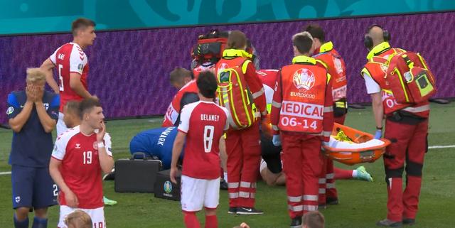 欧洲杯丹麦球王突然倒地,了解教科书式急救