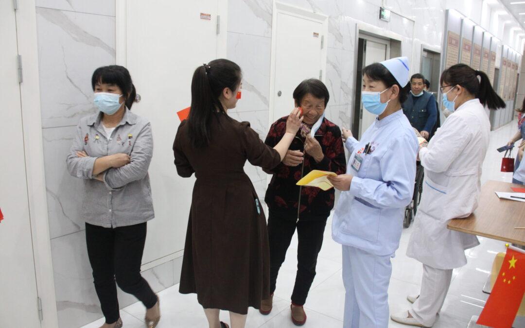 郑州新华医院载歌载舞欢庆护士节